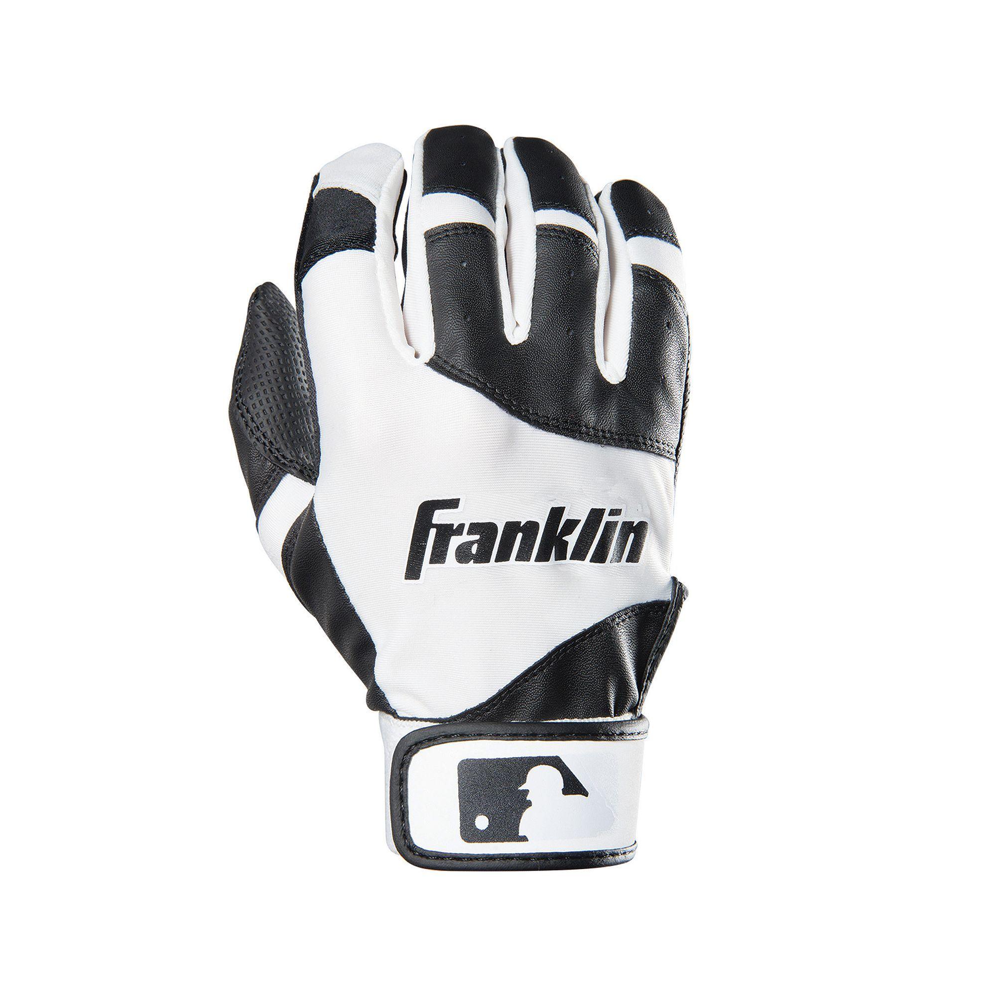 Franklin Sports Classic Batting Gloves Youth Batting Gloves
