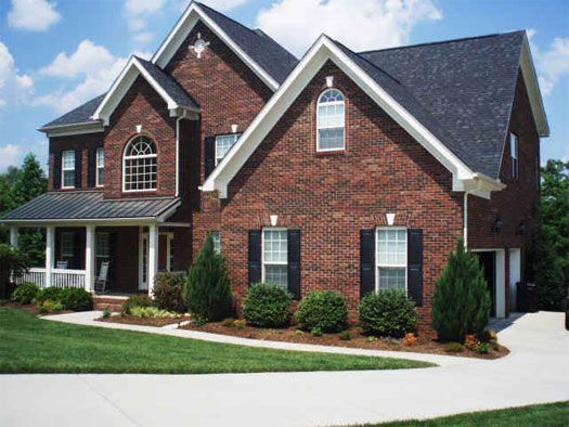 Brick colors for house exterior elite craft homes for Home exterior options