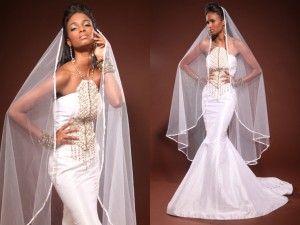 African Wedding Dresses 2012