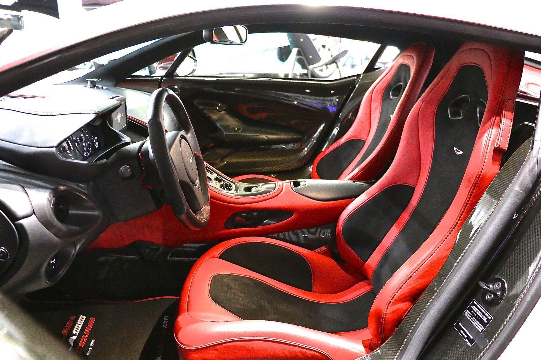 Aston Martin e 77 for sale in Dubai interior