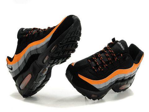 nike air max 95 black orange