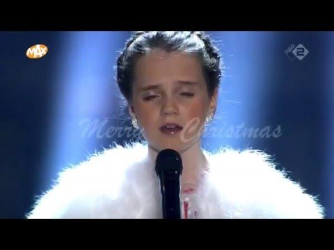 Amira Willighagen Sings O Holy Night In Netherlands Inspiremore Christmas Concert O Holy Night Singing Videos