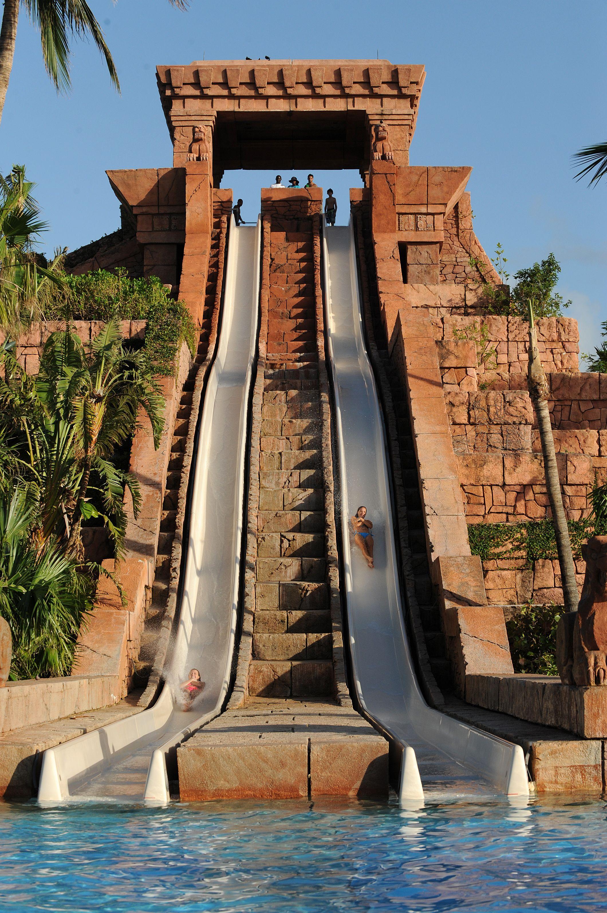 Aquaventure At Atlantis Paradise Island Waterslides Water Slides