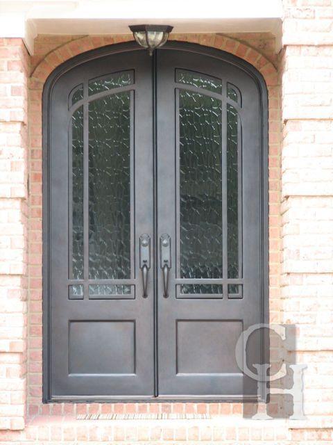 Iron Double Door Clark Hall Doors Charlotte Nc Wrought Iron Doors