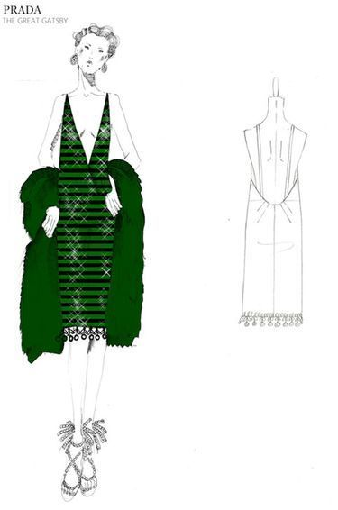 The Great Gatsby (2013) | Miuccia Prada's design in collaboration with Catherine Martin for Baz Luhrmann's stylized film adaptation.