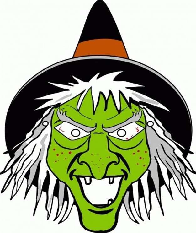 resultado de imagen de cara de bruja halloween proyecto