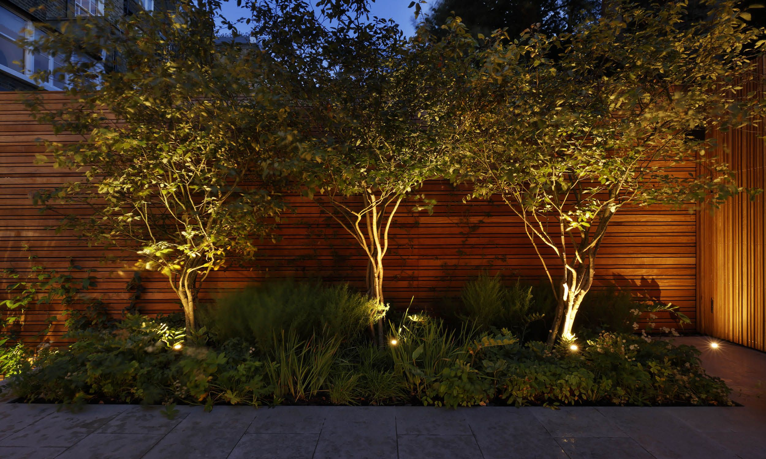 Space for a garden is often limited in London, and this site in ...