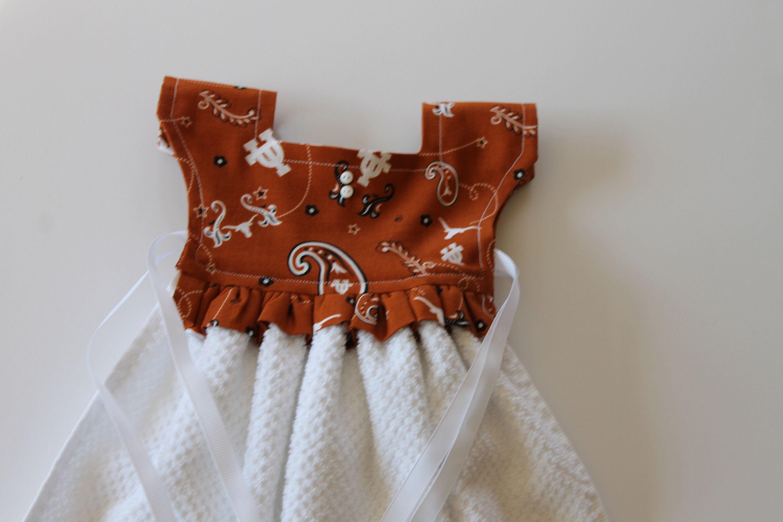 Texas Kitchen Towel Hanging Towel Dress Hanging Dish Towel