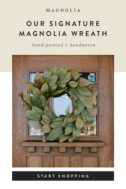 Photo of Signature magnolia wreath
