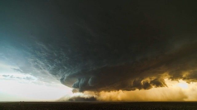 Supercell Thunderstorm Time Lapse by  Mike Olbinski - Beautiful!