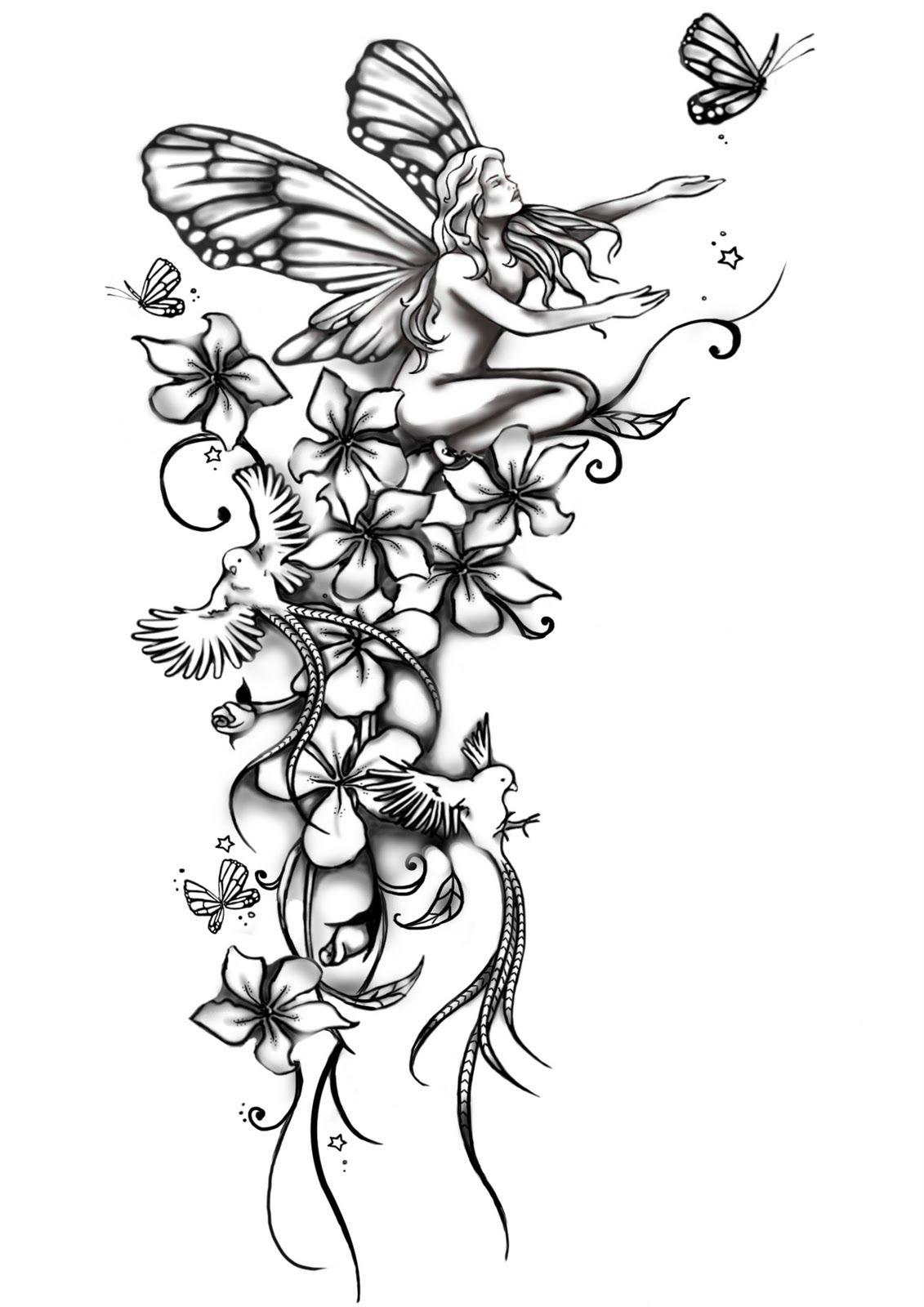 Ffx Bruderherz fantasy blumen tattoos