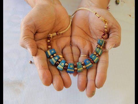 Terracotta jewellery tribe neclace do it yourself youtube terracotta jewellery tribe neclace do it yourself youtube solutioingenieria Images