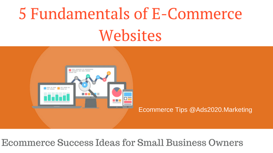 04dd5f6d409b3 What are the Fundamental Elements that every E-Commerce Website must have    Business Success  Ideas for Running an Online  Store…