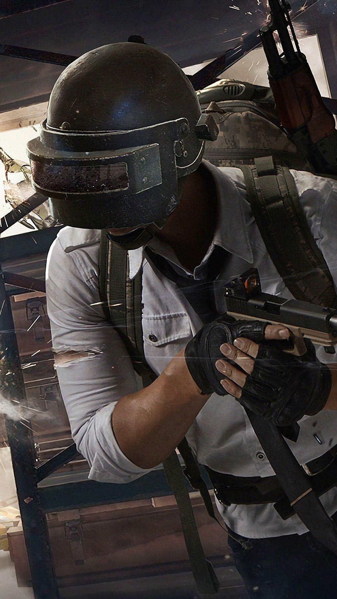 Video Game Gun Fight Playerunknown S Battlegrounds 1080x1920