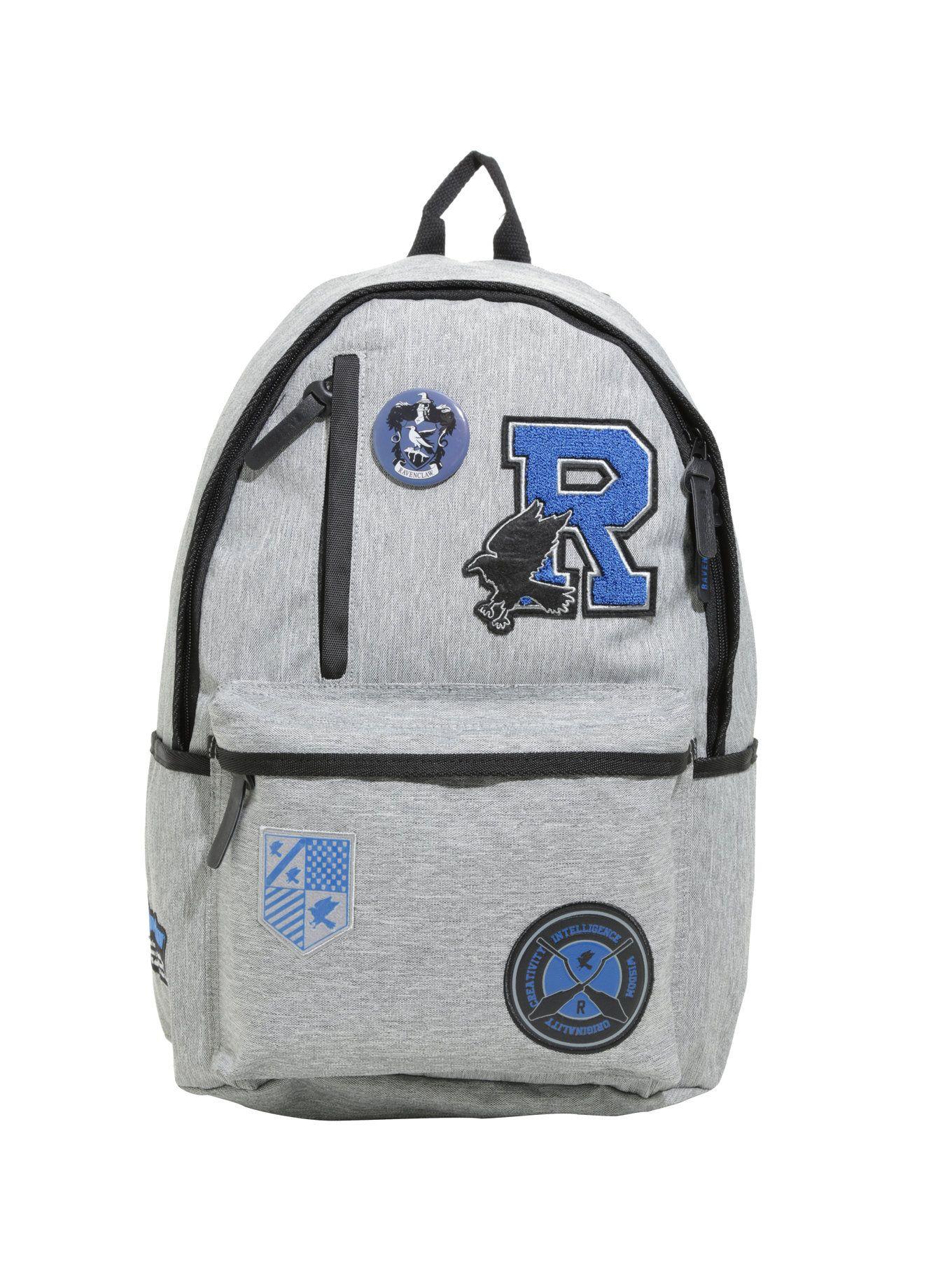 b4c72542a62 Harry Potter Ravenclaw Varsity Patch Backpack