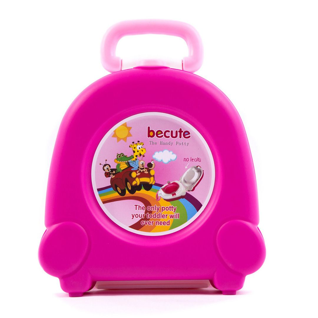 Sweet Hot P[ink Amazing Easy to Clean Carry Potty for On