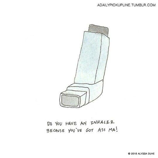 you got an inhaler