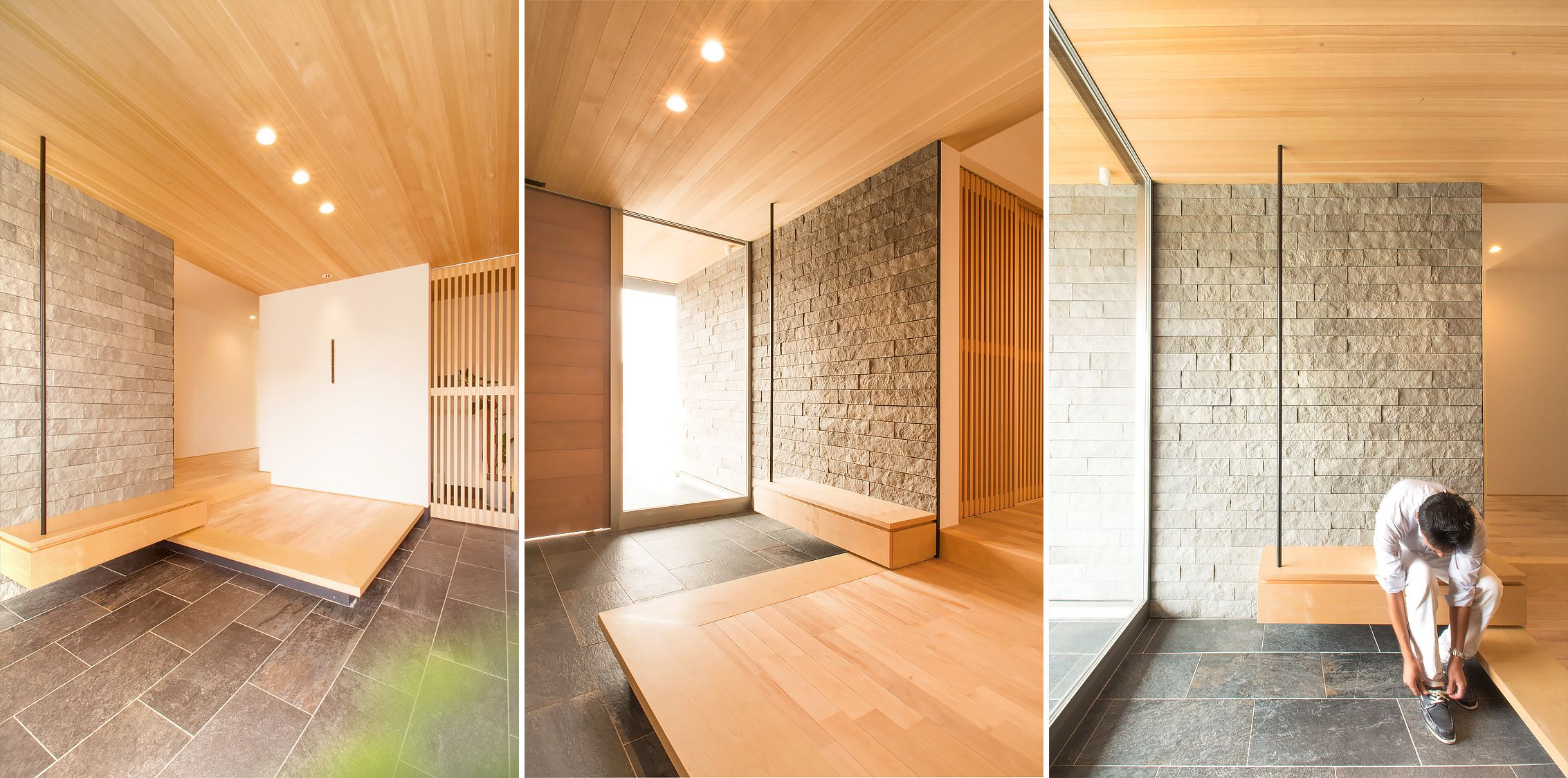 Nakasone genkan modern archi interior - Modern japanese home decor ...