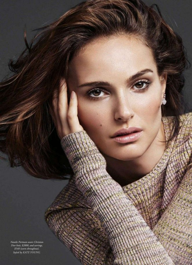 awesome Natalie Portman stuns in Dior for Harper's Bazaar Australia April 2016 by Alique
