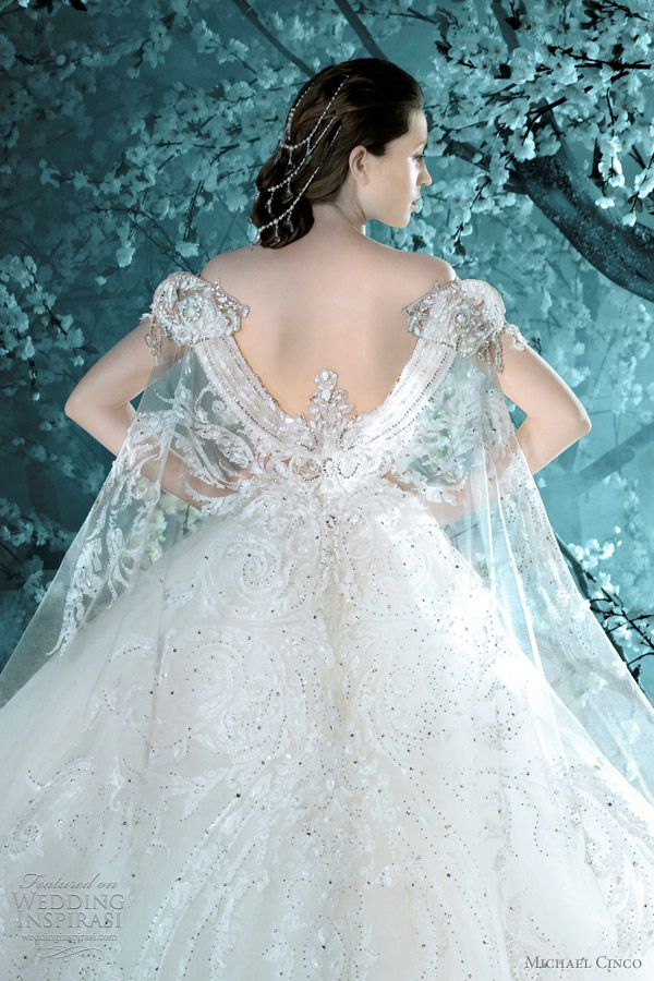 Michael Cinco Wedding Dresses Fall Winter 2011 2012 Bridal Collection