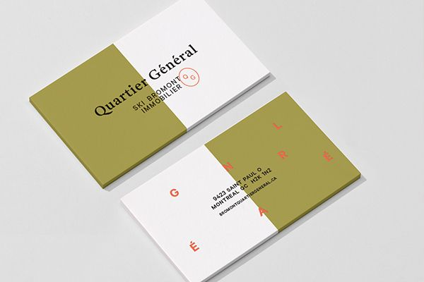 Branding propsoition for Le Quartier Général from Ski Bromont ...