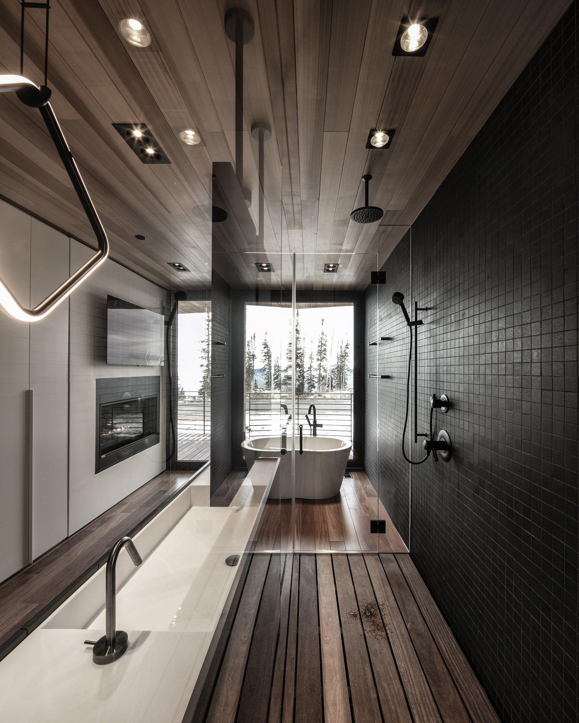 The Kinii The Falcon S Nest By The Italian Architects Of Obicua Floornature In 2020 Modern Lake House Bathroom Design Design