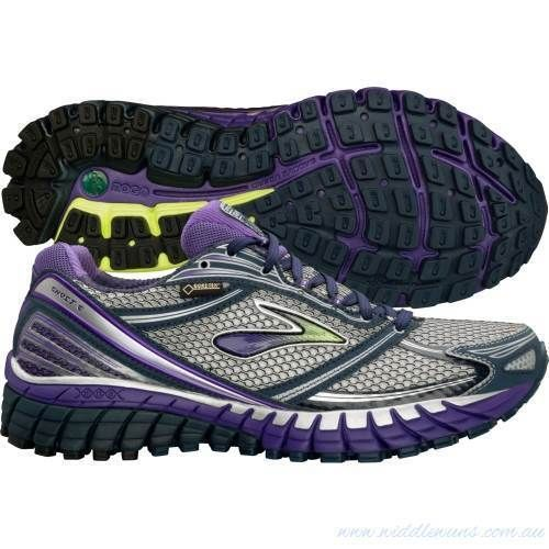 ae0abd2cdba5d Women s 10 Brooks Ghost 6 GTX Running Shoes Trail Waterproof Purple  Brooks   RunningCrossTraining