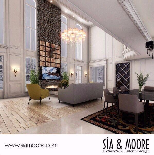 Designed by Sia Moore Architecture Interior Design # ...