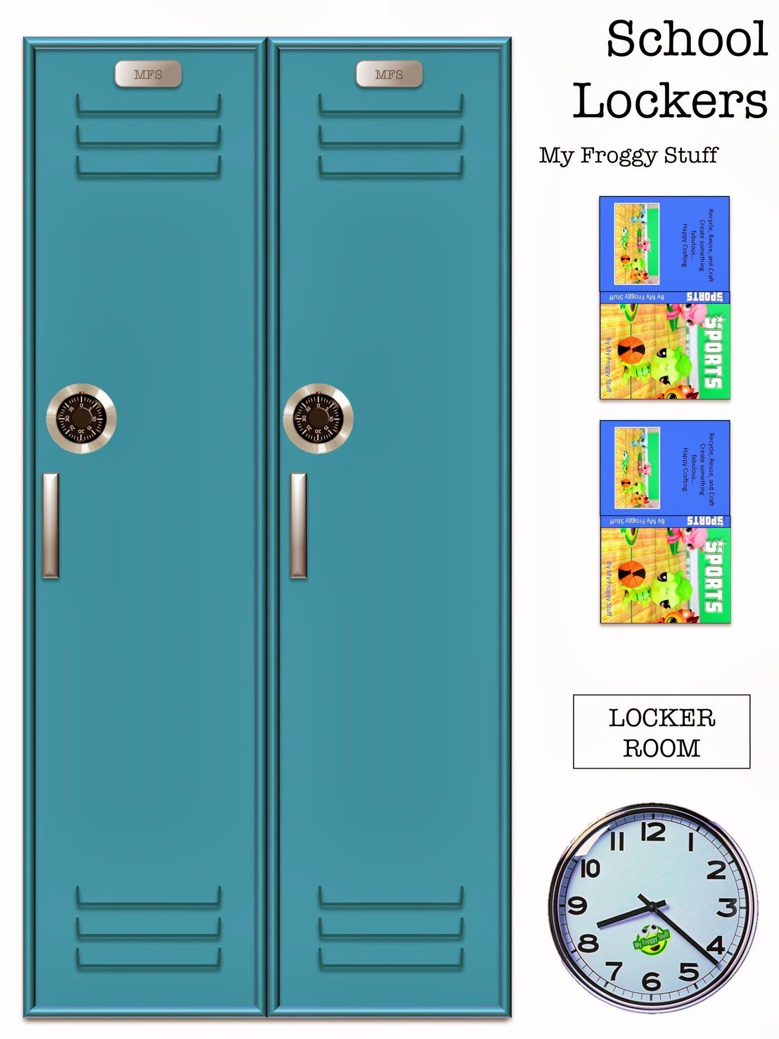 School Locker Printables