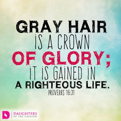 Aging With Grace Daughters Of The Creator Grey Hair Quotes Daily Devotional Grey Hair Don T Care