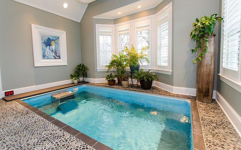 65 luxury small indoor pool design ideas on budget (58   Garten pool ...