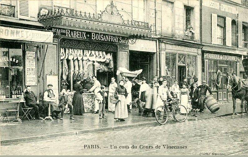 cours de Vincennes - Paris 20ème