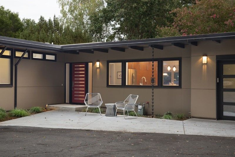 Mid Century Modern House Remodeled For A Family Of Five