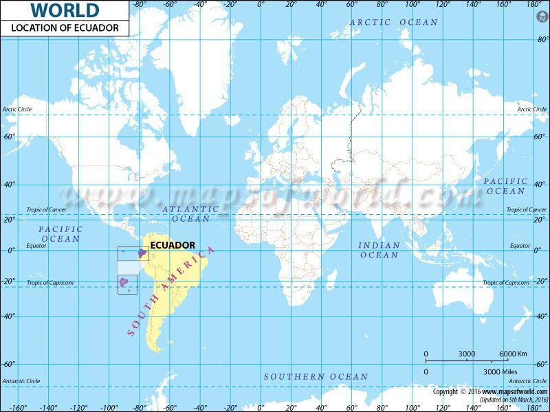 Ecuador Location Map Maps Pinterest Ecuador and Location map - best of world map japan ecuador