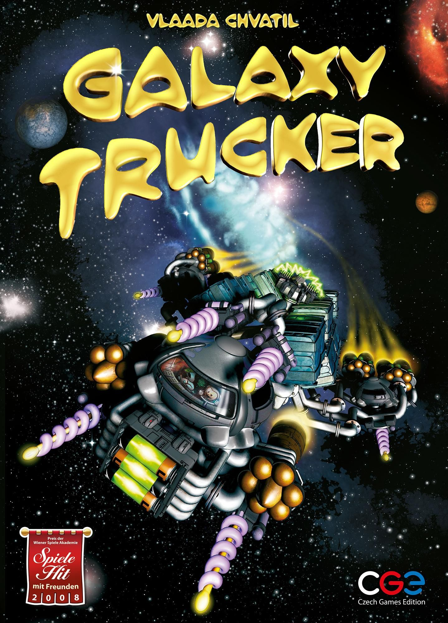 Galaxy Trucker Toys & Games Board games for