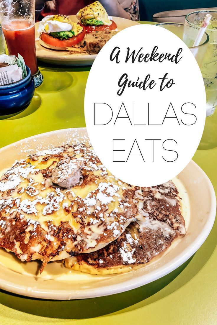 A Weekend Guide to Dallas Eats - Candidly Kristian
