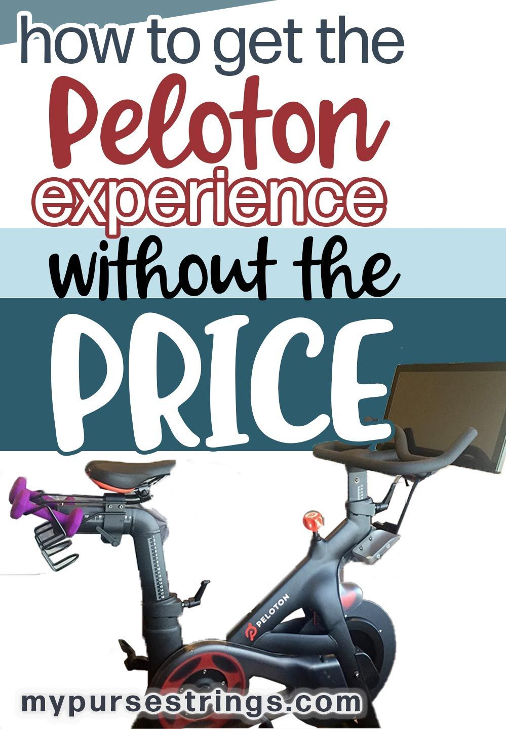 How To Get The Peloton Cycle Experience Without The Price Tag At Home Workouts For Women Simple Workout Routine At Home Workouts
