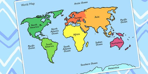 Map of the world ks1 map of the world ks1 1000 images about geography ks1 on pinterest role play gumiabroncs Image collections