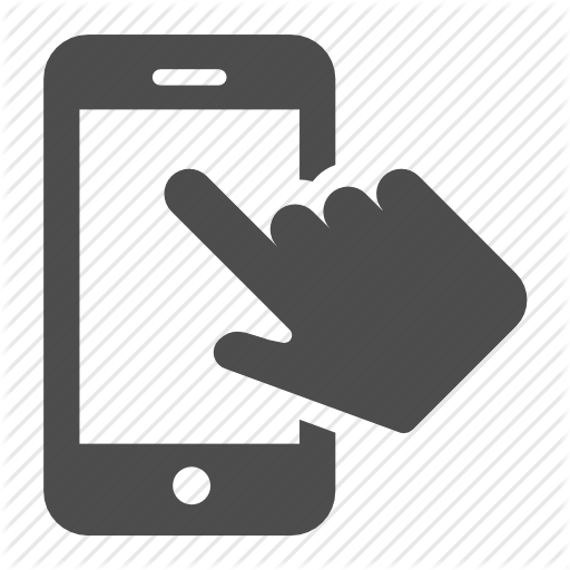 finger, hand, iphone, mobile, phone, telephone, touch icon