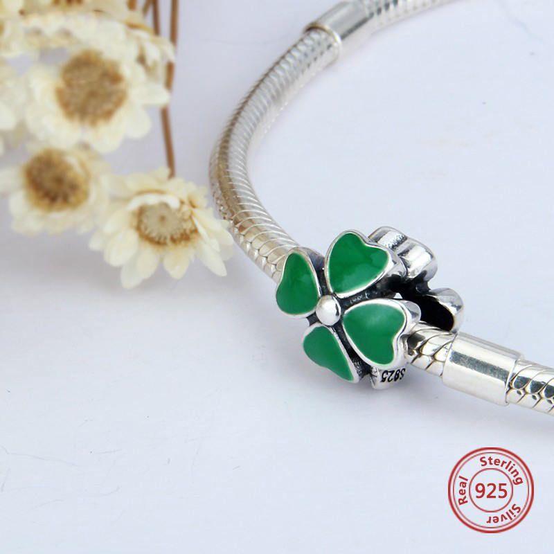pandora charm cuore verde