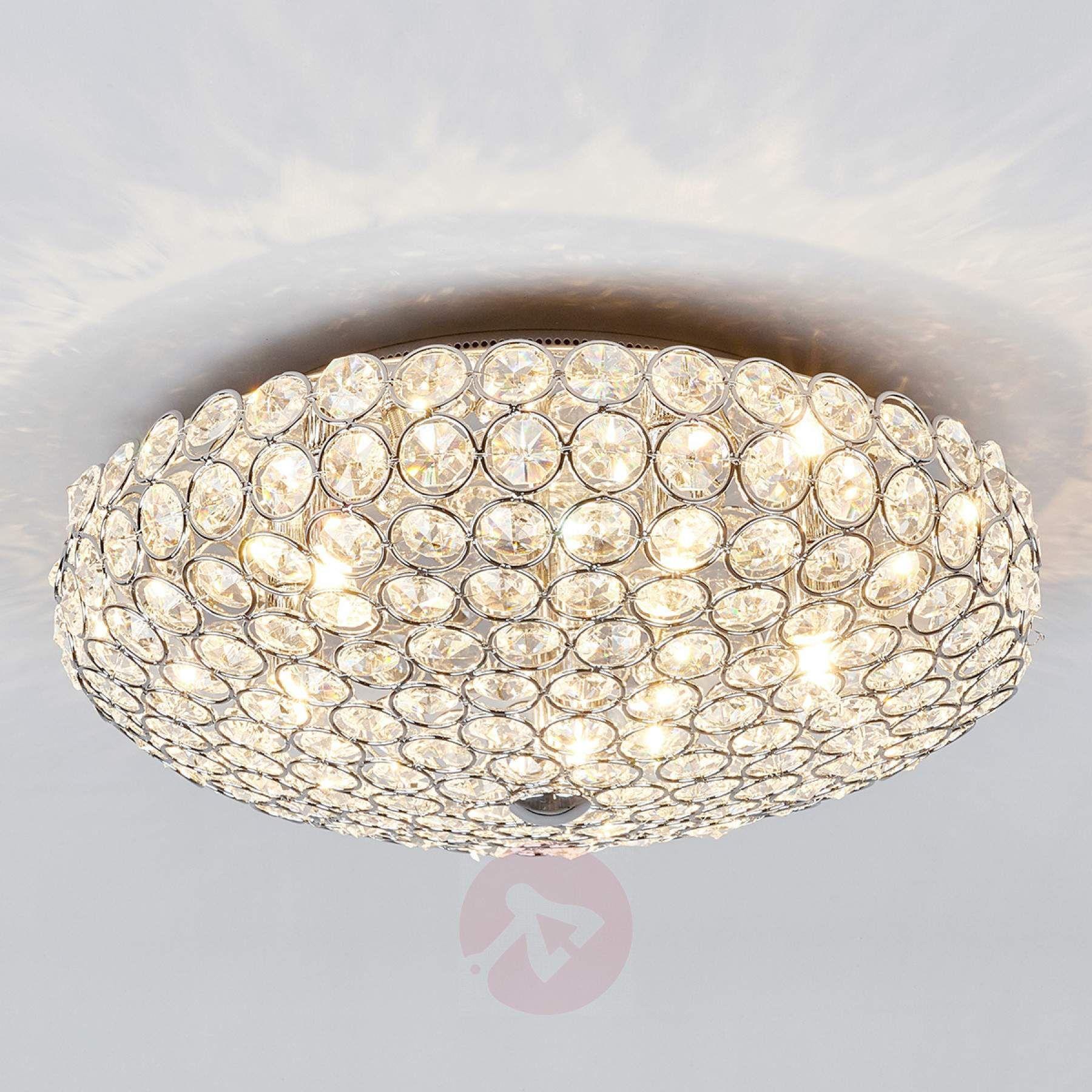 Dekorative Kristall Deckenleuchte Edda 9973001 01 Kristall Deckenleuchte Beleuchtung Decke Deckenlampe Kristall