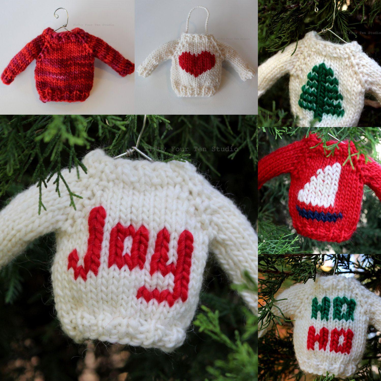 Christmas Knitting PATTERN / TWO Knit Pattern Bundle / PDF instant ...