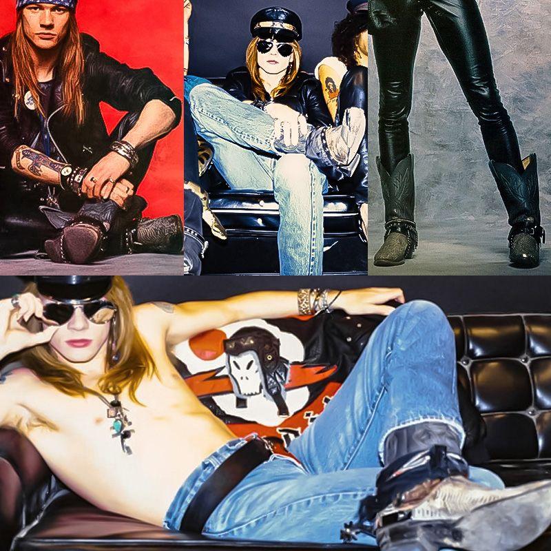 Axl Rose boots