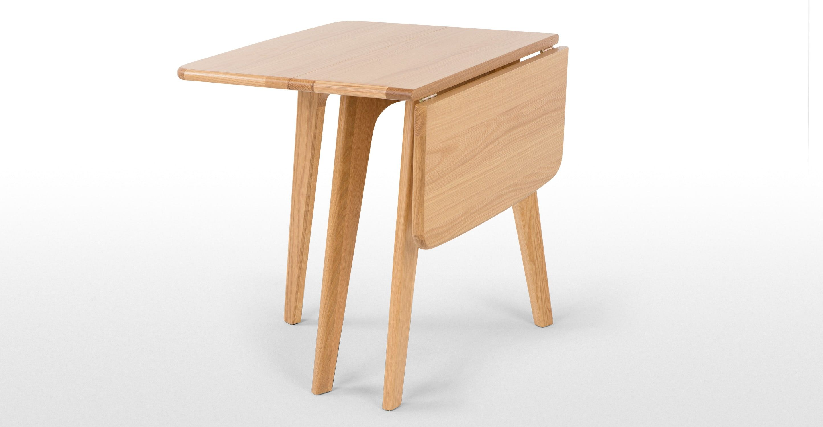 Fjord Table A Rabats Rectangulaire Chene Table A Rabat Table Modulable Table En Chene