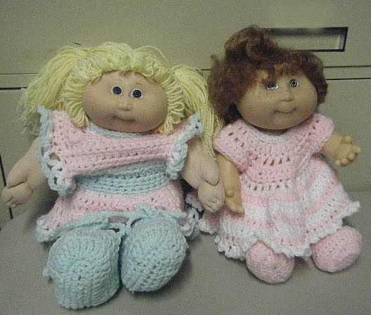 And cleaned them up and made them new crochet outfits the cloth and cleaned them up and made them new crochet outfits the cloth cabbage patch dolls with vinyl heads wash up very nicely in a front load washer dt1010fo