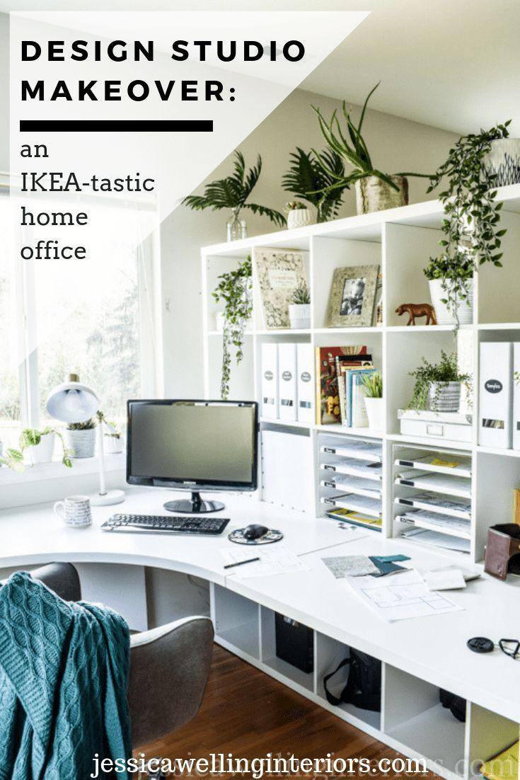 Ikea Home Office Ideas: My New Design Studio Reveal ...