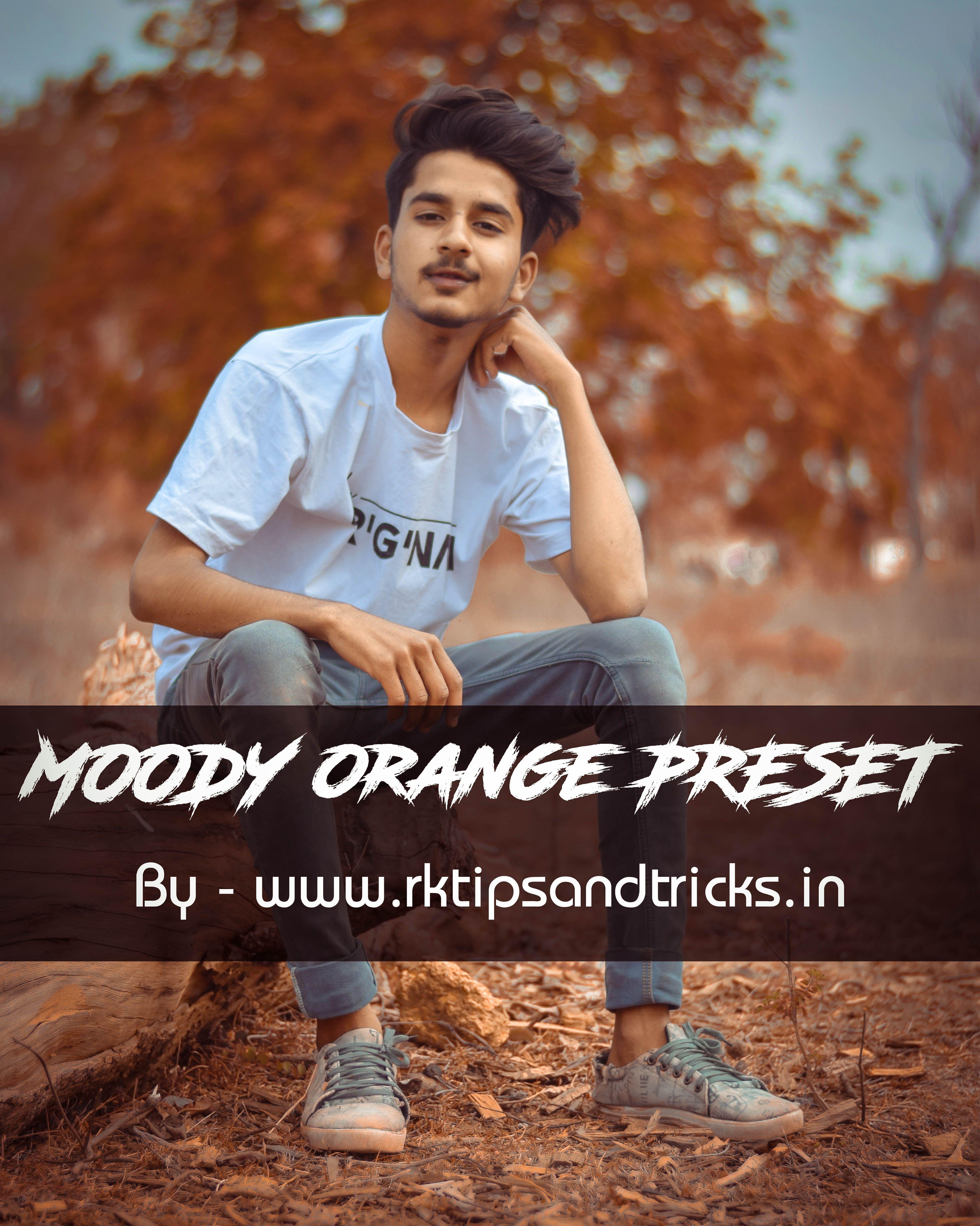 Lightroom Aqua Orange Preset Download