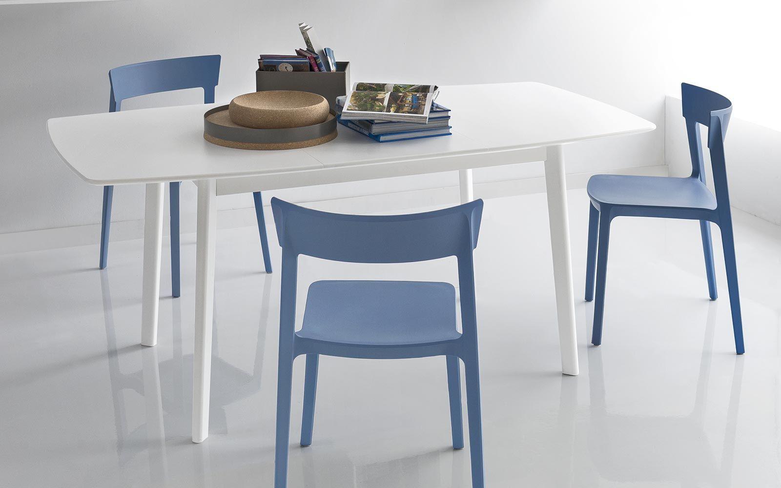 sedia skin calligaris blu | la cocina | pinterest | sedie moderne ... - Sedie Cucina Scontate Calligaris