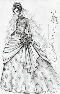 Desenhos De Moda Desenhos De Moda Esbocos De Vestidos Estilos