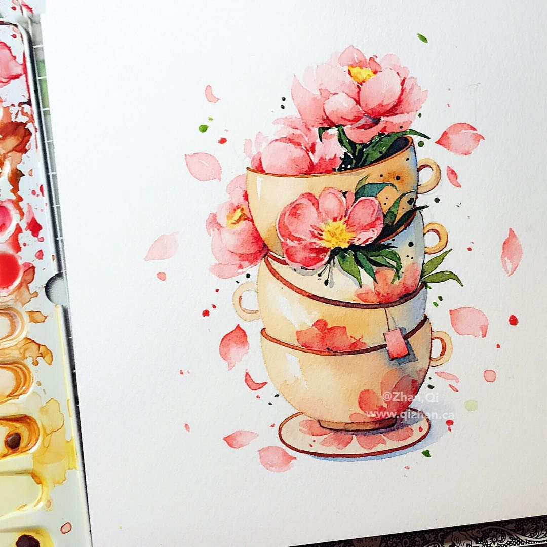 Watercolor Watercolour Watercolours Watercolorart